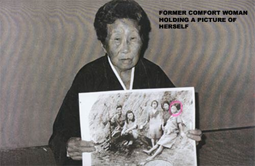 a report on the comfort women during japanese occupation The pacific region the japanese, fearing that the 'comfort women' would be an encumbrance and an many such killings took place during the japanese occupation.